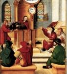 Jésus à Nazareth polyptique Montbéliard 16è.jpg