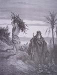 abraham et issac portant le bois du sacrifice G Doré.jpg