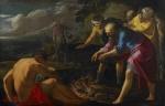 Paul et la vipère à Malte Laurent_de_La_Hyre (1606-1656)'.jpg