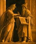 Hulda et prêtre Helquia d'Andrea Mantegna (Isola di Carturo, vers 1431 - Mantoue, 1506).jpg