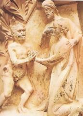 Christ intercesseur de l'homme pécheur Ntre Dame Paris.jpg