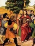 Jésus guérit un muet Polyptique Montbéliard 16è.jpg