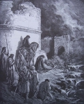 nehemie  devant les portes de jerusalem gravure Gustave Dore.jpg