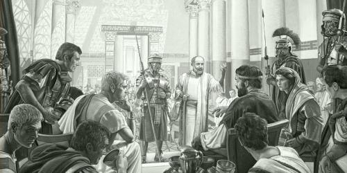 Paul devant Agrippa, Bérénice et Festus.jpg