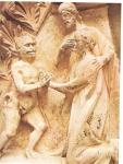 Christ avocat de l'homme pécheur, relief de Notre-Dame Paris.jpg