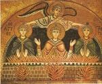 Daniel 3 fournaise mosaïque près Delphes.jpg